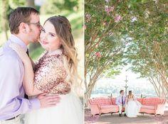 Jess & Stephen's Libby Hill Park in Downtown Richmond, VA by @shalesedanielle.  Shalese Danielle is a Richmond, VA wedding photographer.