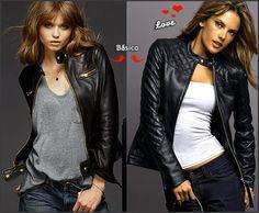 Looks com casaco de couro 1 Looks com Casaco de Couro