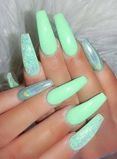 100 Best Nail Designs Colors for Spring 2019 # Spring # for . - 100 Best Nail Designs Colors for Spring 2019 Nail Designs Spring, Cool Nail Designs, Art Designs, Coffin Nails Designs Summer, Colorful Nail Designs, Cool Nail Ideas, Acrylic Nail Designs For Summer, Coffin Nails Designs Kylie Jenner, Green Nail Designs