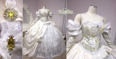 Labyrinth Ball Gown by Lillyxandra.deviantart.com on @deviantART