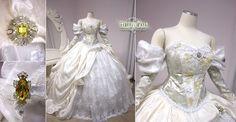 Labyrinth Ball Gown by Lillyxandra.deviantart.com on @deviantART
