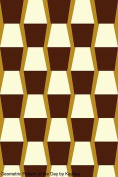 Contemporary Artist: Petra and Nicole Kapitza -  2013 - Kapitza geometric pattern