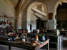 Château de Lude : fairytale kitchen