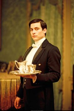 Thomas as Under Butler/First Footman