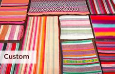 Colorful hand woven rugs and runners via @ANG*