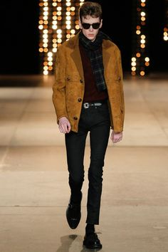 Saint Laurent | Fall 2014 Menswear Collection | Look 37