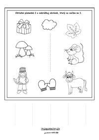 Písmenká - séria pracovných listov - Nasedeticky.sk Montessori, Education, Comics, Games, Alphabet, Gaming, Cartoons, Onderwijs, Learning