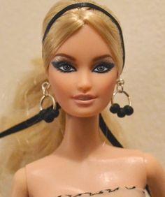 1 6 Lara OOAK Barbie Repaint Ken OOAK Barbie Diorama Barbie Basics Model Muse   eBay