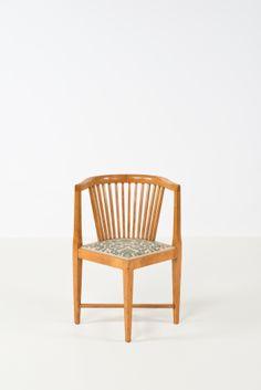 Josef Hoffmann; Chair for Prag Rudniker, c1900.