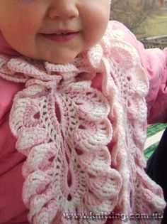 crochet scarf pattern for baby