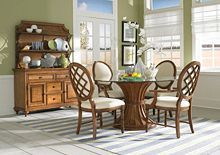 Samana Cove Server Base and Hutch from the Samana Cove collection by Broyhill Furniture