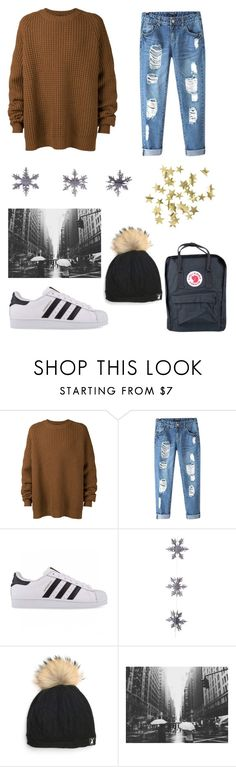 """""""Sweater weather"""" by lilwade2 ❤ liked on Polyvore featuring Haider Ackermann, Chicnova Fashion, adidas Originals, Fjällräven, East of India, Tallis and H&M"""