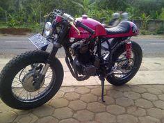 "SCUT ""Standard Customs"": Honda Tiger Cafe Racer Untuk Si Bontot"