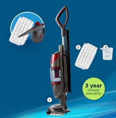 Bissell Sympohny™ - My new miracle product.  Perfect for my Delaware condo now that I'm alone.  Easy one-step tile floor cleaning.  Anything to make life easier right now!