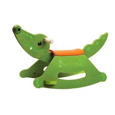 Rocking Alligator | giggle I know I have this in several pins..but I have to get one for the grandkiddie in Jupiter..and maybe one for my great grand nephew in Boca! Too cute!!!