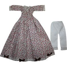 China Doll Dress and Bloomers 1930 from camelot-pc-rl on Ruby Lane