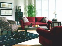 Rent the Farah with Colfax Living Room