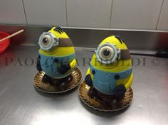 Minions Easter eggs by Paolo Gariboldi - Italy