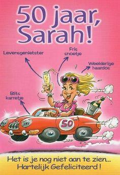 Sarah 50 Jaar Afbeeldingen