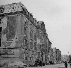 Berlin. Prinz-Albrecht-Straße, Gestapo Berlin. 1946.