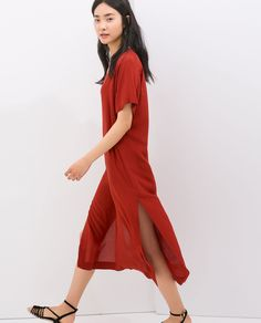 Image 3 of LONG TUNIC from Zara
