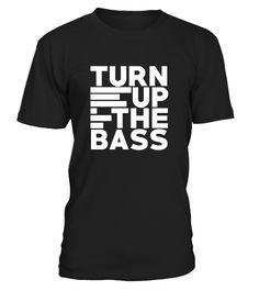 Turn up the Bass! - Music Passion  #gift #idea #shirt #image #music #guitar #sing #radio #art #mugs