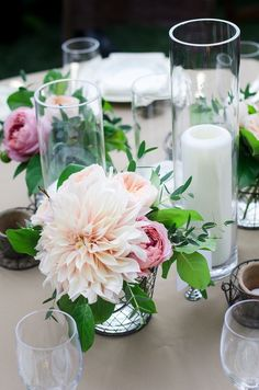 Photography: Aaron Courter Photography - aaroncourter.com dahlias Floral Design: Zest Floral and Event Design - zestfloral.com  Read More: http://www.stylemepretty.com/2013/01/07/oregon-vineyard-wedding-from-aaron-courter-photography/