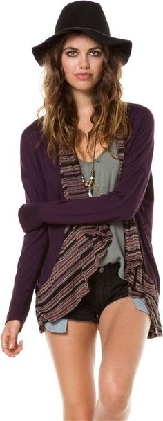 ELEMENT NIGHTSHIFT WRAP TOP   http://www.swell.com/ELEMENT-NIGHTSHIFT-WRAP-TOP