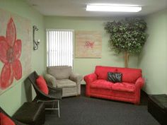 Comfy Chair in the Cry Room.A Secret Peek Inside The Church Tours at Children's Pastor's Conferenc Lactation Room, Parents Room, Church Nursery, Room Planning, Room Pictures, Children And Family, Kirchen, God Is Good, Room Interior