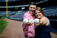 Turner Field Engagement Pictures