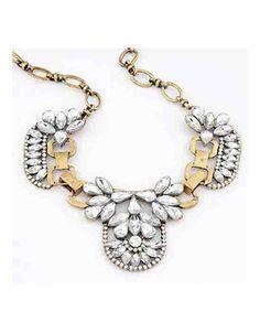 { Jewel-cluster-necklace }