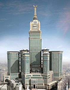 Mecca Clock Tower (Abraj al-Bait) in Mecca, Saudi Arabia