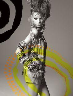 nu8 DAPHNE GROENEVELD  by Greg Kadel for Numéro #124 June/July 2011.