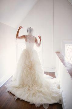 beautiful wedding gown by kirstie kelly
