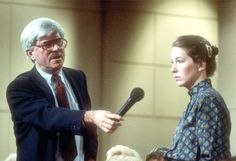 Phil Donahue... Is the caller there?