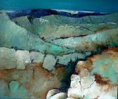 Marjan Nagtegaal - blauwe bergen