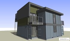 2×4 Container Homes By Zigloo