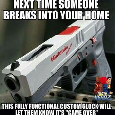 This is a real gun!Loading that magazine is a pain! Get your Magazine speedloader today! http://www.amazon.com/shops/raeind