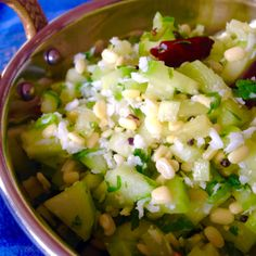 A Fresh Indian Cucumber Salad Indian Cucumber Recipe, Cucumber Recipes, Indian Food Recipes, Vegetarian Recipes, Ethnic Recipes, Indian Salads, South Indian Food, Cooking Games, Soup And Salad