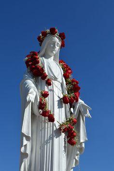 Catholic Quotes, Catholic Art, Catholic Saints, Religious Art, Blessed Mother Mary, Blessed Virgin Mary, Santa Maria, Assumption Of Mary, Prayer For Church