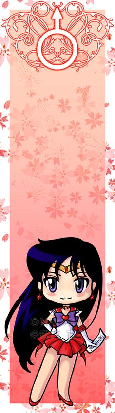 Sailor Mars bookmark by Marc-G.deviantart.com on @deviantART