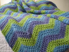 Ripple Baby Blanket by iheart... on Flickr.