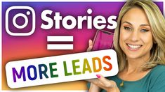 How to Generate Leads With Instagram Stories - YouTube Marketing Tactics, Social Media Marketing, Anniversary Message, Instagram Questions, Social Media Channels, Lead Generation, Instagram Story, Led, Education