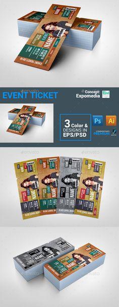 Invitation Ticket Graphic Design Pinterest Ticket invitation - ticket invitation template