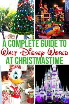 Christmas at Disney World A Complete Guide is part of Disney world christmas - The holidays are a great time to visit Disney! Check out this complete guide to Christmas at Disney World for all the best tips and ideas! Disney World Christmas, Mickey Christmas, Christmas Travel, Disney Holidays, Christmas Vacation, Disneyworld At Christmas, Holiday Travel, Magic Kingdom Christmas, Mickeys Christmas Party