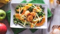 Capesante con insalata di frutta