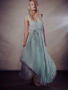 Free People Kingsley Pleated Dress