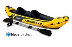 kayak hinchable Explorer K2. Dos plazas. Mejor precio en Megapiscinas.com