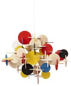 Suspension Bau Small / H 43 cm Multicolore - Normann Copenhagen - Décoration et mobilier design avec Made in Design
