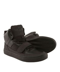 This Matte Black Cota Leather Hi-Top Sneaker by Creative Recreation is perfect! #zulilyfinds